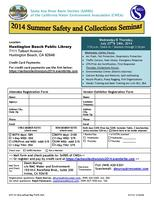 2014 Summer Safety and Collections Seminar