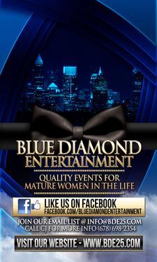 BLUE DIAMOND ENTERTAINMENT | PRIDE 25+ | TEAM GIRL WORLD | ATL SOCIALITES logo
