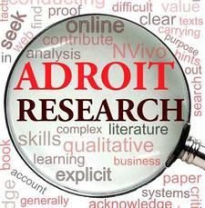 Adroit Research logo