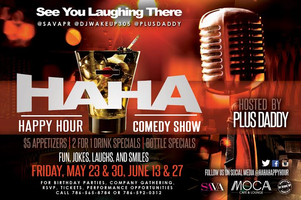 Ha Ha Happy Hour Comedy Show - May 23rd & 30th Show...