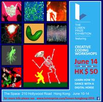 Lumen Prize Creative Coding Workshop - 12pm
