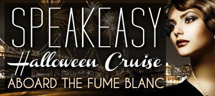 Speakeasy San Francisco Halloween Party Cruise - 4 Hour Open Bar