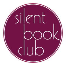 Silent Book Club  logo