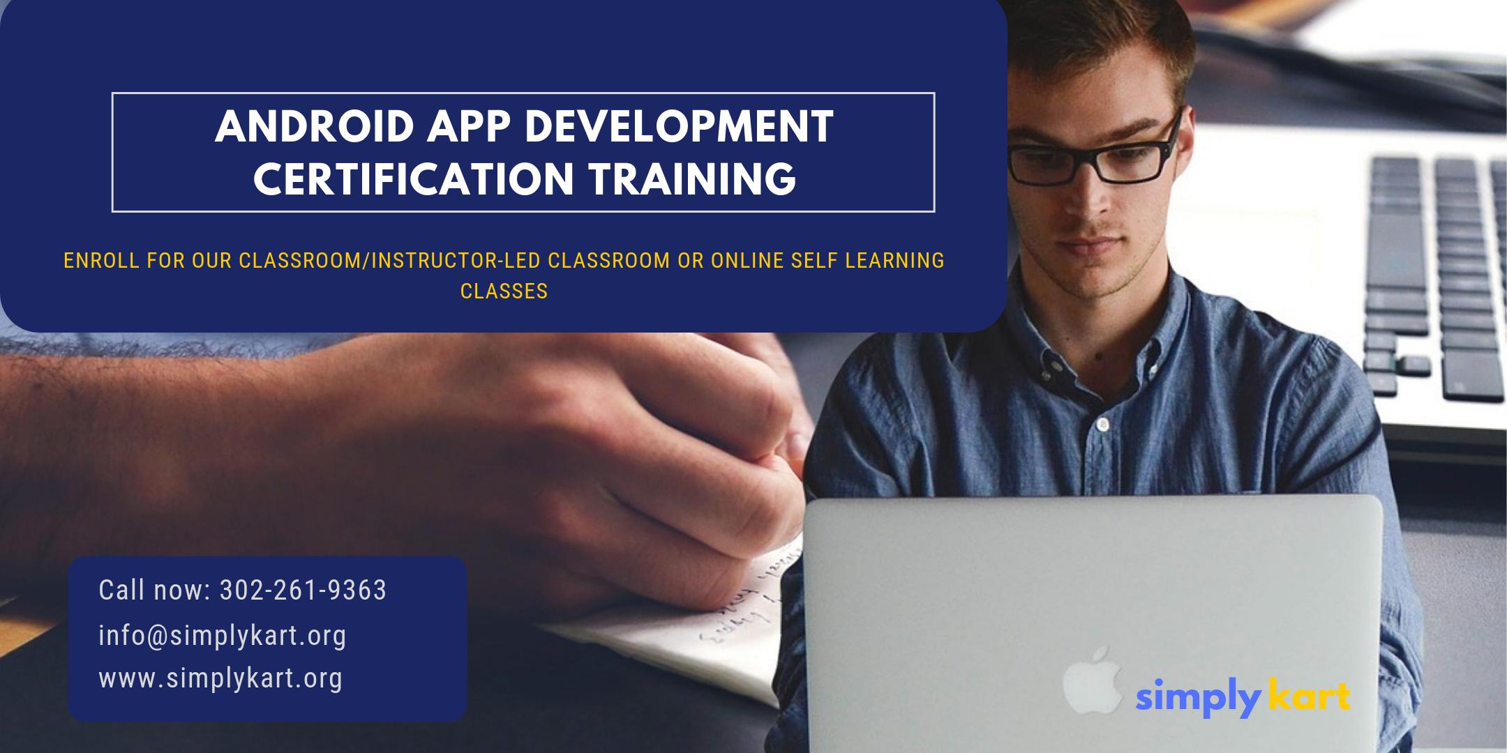 Android App Development Certification Training in McAllen, TX
