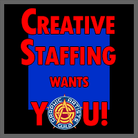 Creative Staffing Wants YOU! by Graphic Artists Guild,...