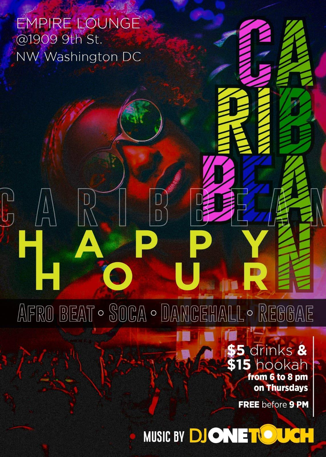 CARIBBEAN THURSDAYS | HAPPY HOUR