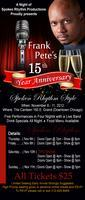 Frank Pete's 15th Yr. Anniversary ~ A Night of Spoken Rhythm