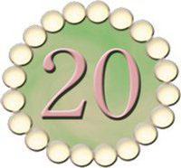 The Twenty Pearls Foundation, Inc.  logo