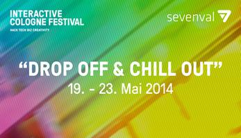 """drop off & chill out"" @sevenval - INTERACTIVE COLOGNE..."