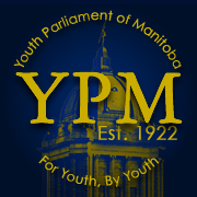 Youth Parliament of Manitoba logo