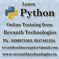Python Online Training from Hyderabad