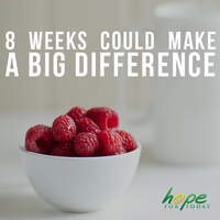 Eight weeks could make a big difference