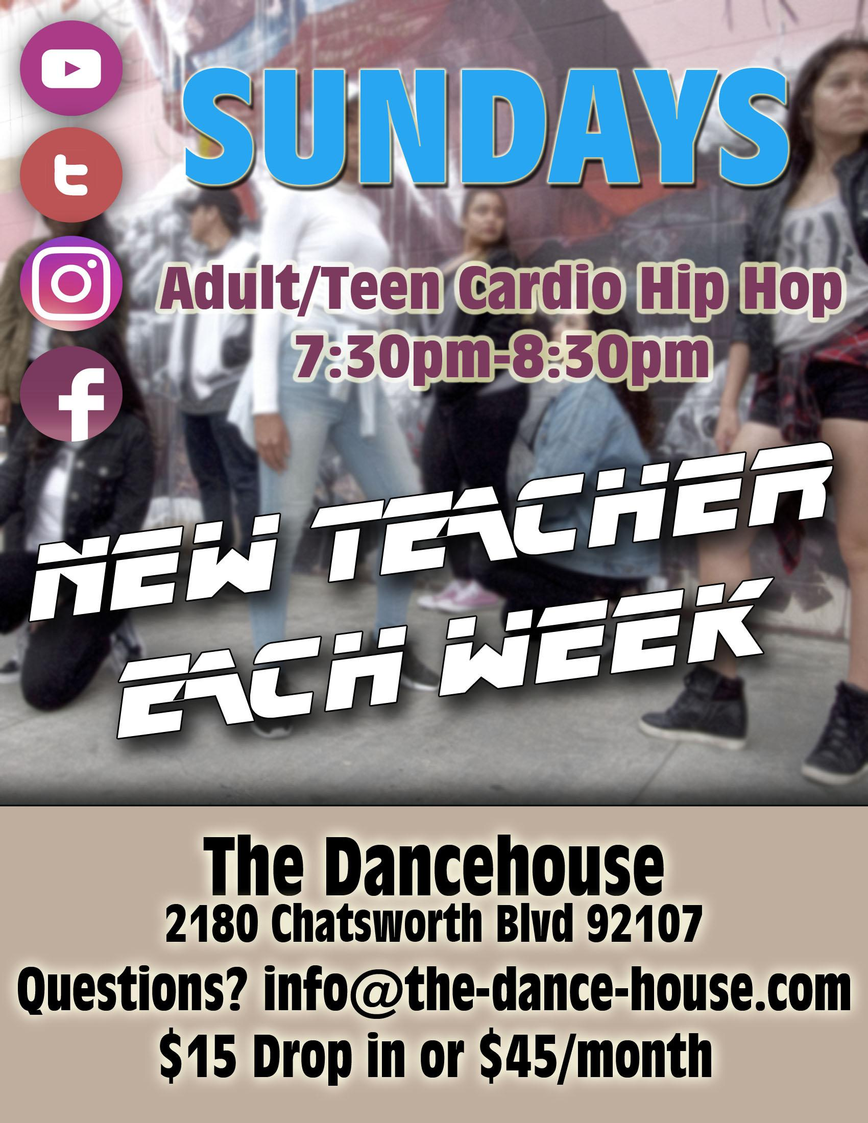 ONLINE ONLY Beginning Hip Hop for Adults