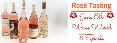 Rosé Tasting Extravaganza