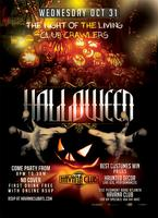 Halloween Night: Wednesday Oct 31: FREE VIP TICKET +...