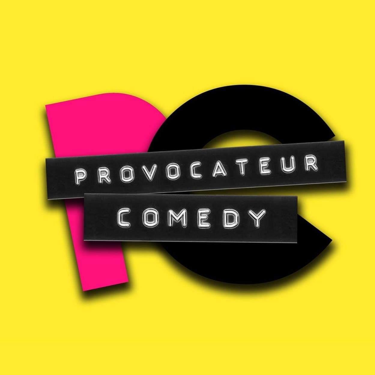Provocateur Comedy  logo