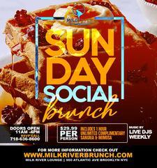 SUNDAY BRUNCH AT MILK RIVER  logo