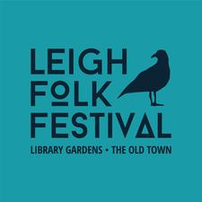 Leigh Folk Festival  logo