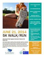 2014 Kick'N Butt Against Domestic Violence 5K Walk/Run