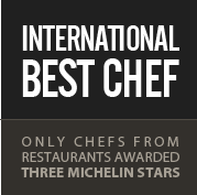 INTERNATIONAL BEST CHEF logo
