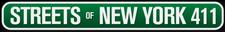 STREETS OF NEW YORK 411 logo