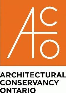 Kae Elgie and Phil Elsworthy for Architectural Conservancy Ontario (ACO) North Waterloo Region branch logo
