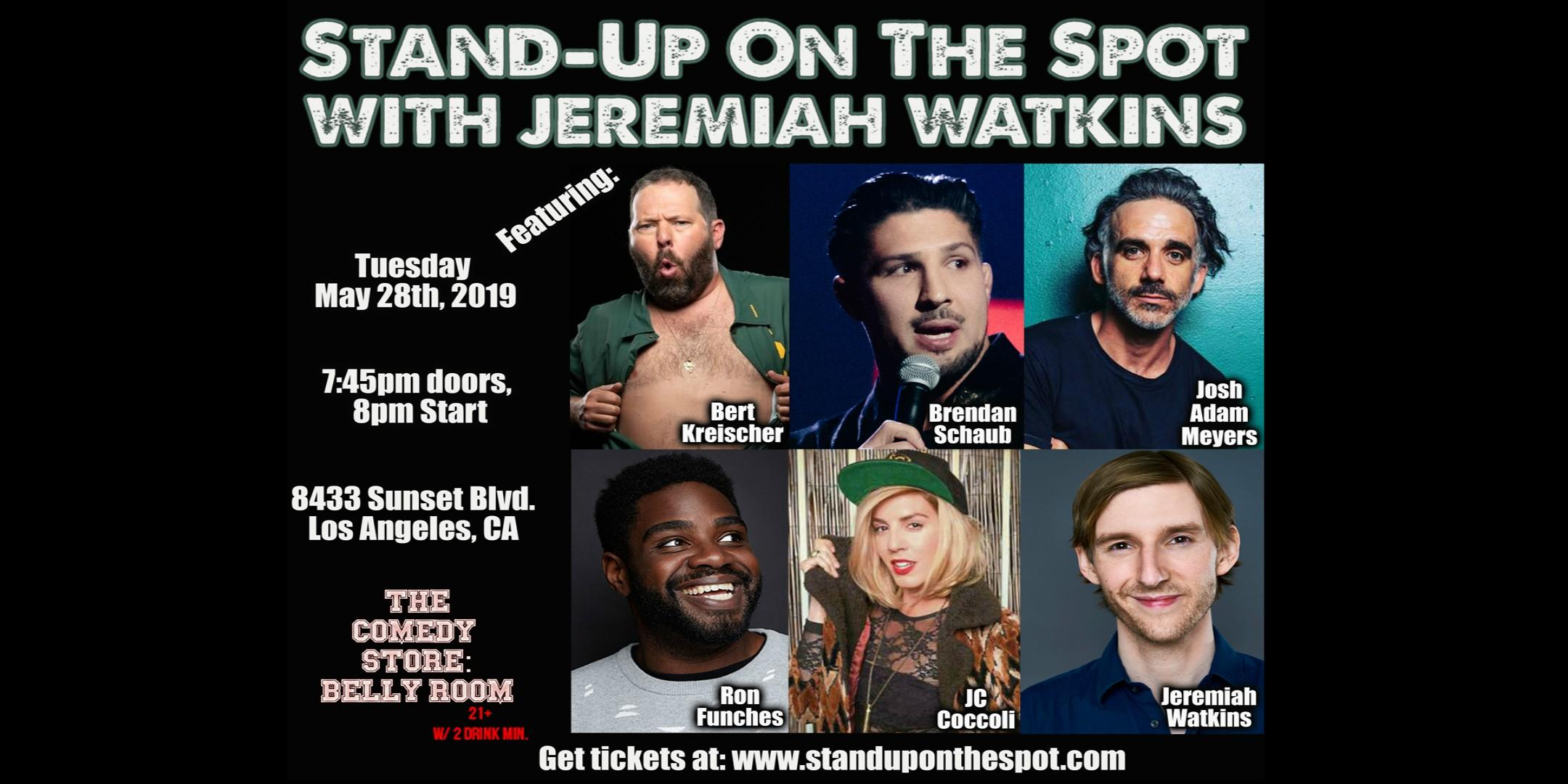 Stand-Up On The Spot with Jeremiah Watkins