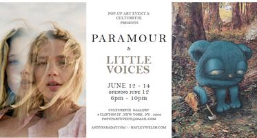 POP-UP ART EVENT: PARAMOUR & LITTLE VOICES ANDY...