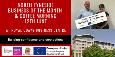 'Business of the Month' Coffee Morning | Weds 12th...