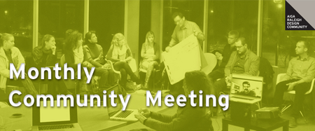 AIGA Raleigh Community Meeting | June 2014