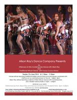 Alison Ray's Dance Company presents an afternoon of...