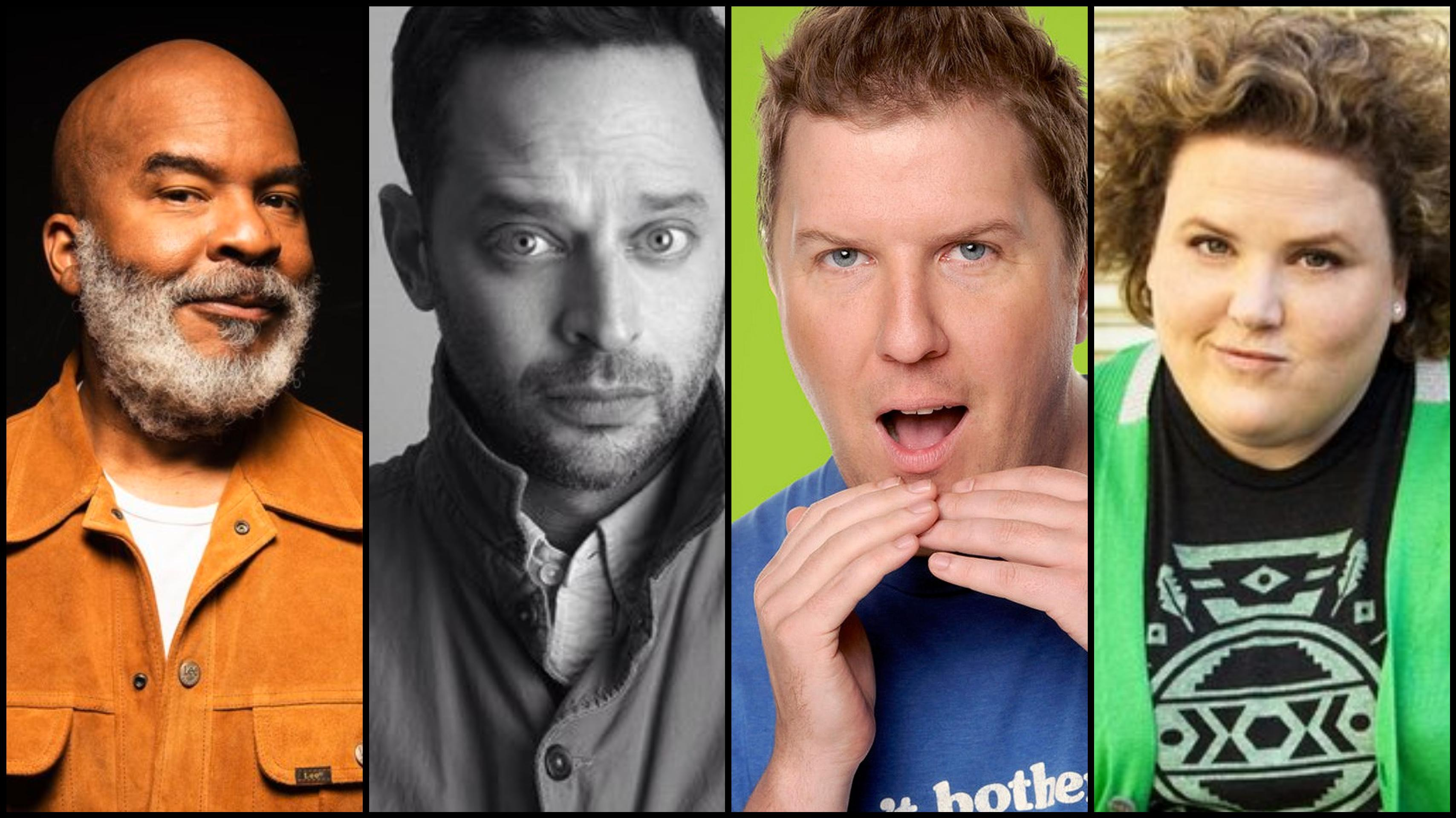 Mello Comedic Nick Kroll, Nick Swardson, Pete Holmes Fortune Feimster