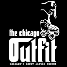 Chicago Outfit Roller Derby logo