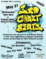 3rd Coast Beats Launch Party