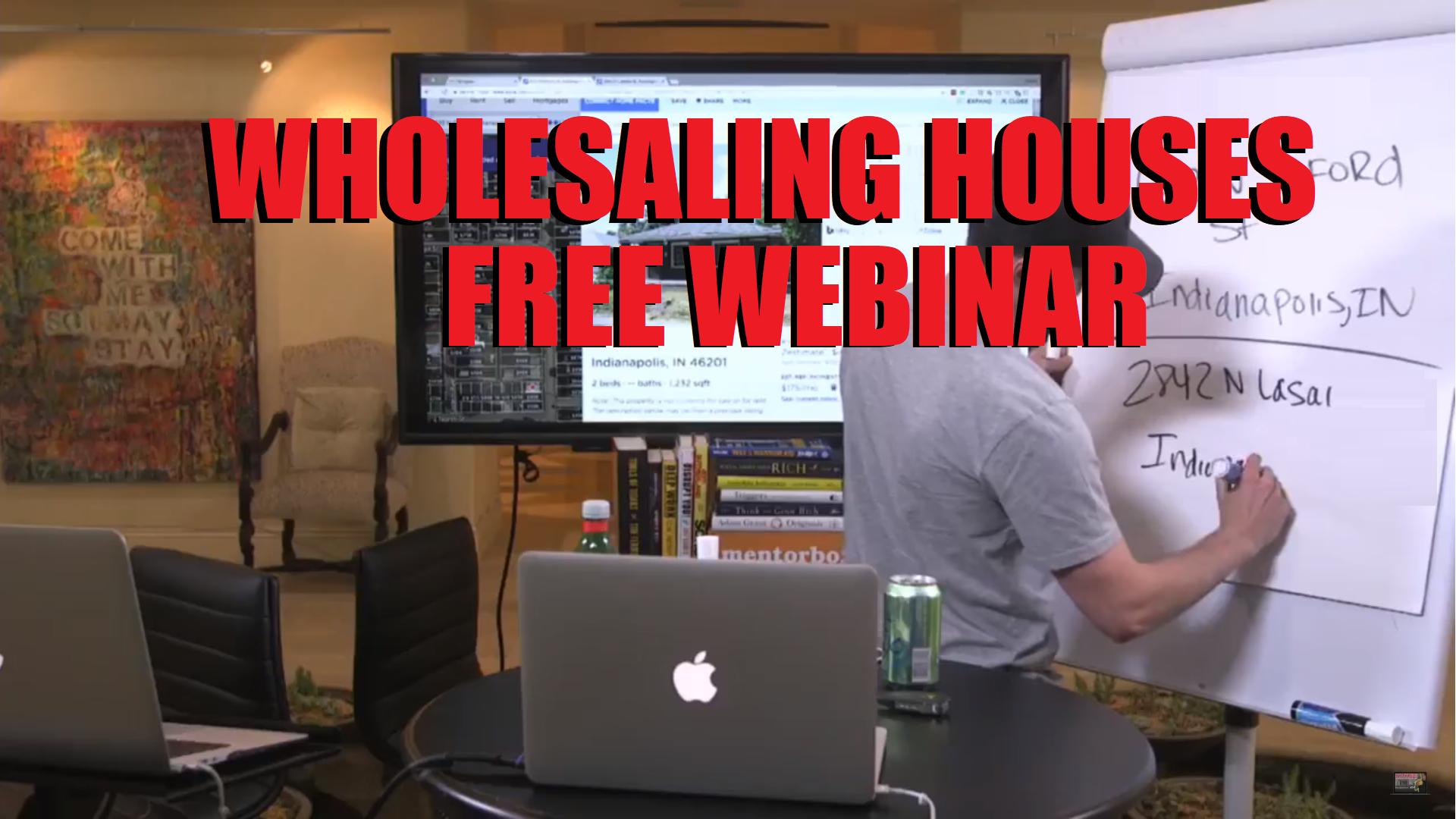 Wholesaling Houses Webinar Philadelphia PA
