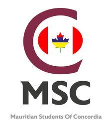 MSC (Mauritian Students of Concordia) logo