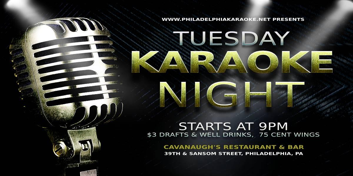 Tuesday Karaoke at Cavanaugh's Restaurant & Bar