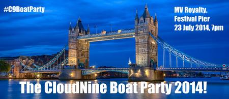The CloudNine Summer Boat Party 2014! - #C9BoatParty