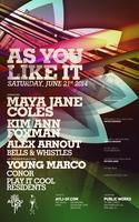 AYLI with Maya Jane Coles, Kim Ann Foxman, Alex Arnout...