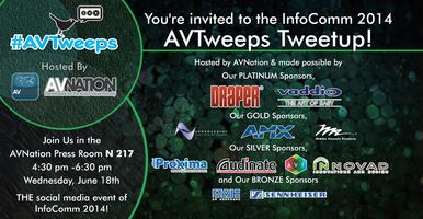 AVNation's #AVtweeps AV Tweetup!