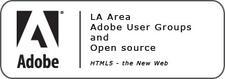 LA Area Adobe User Groups + Open Source logo