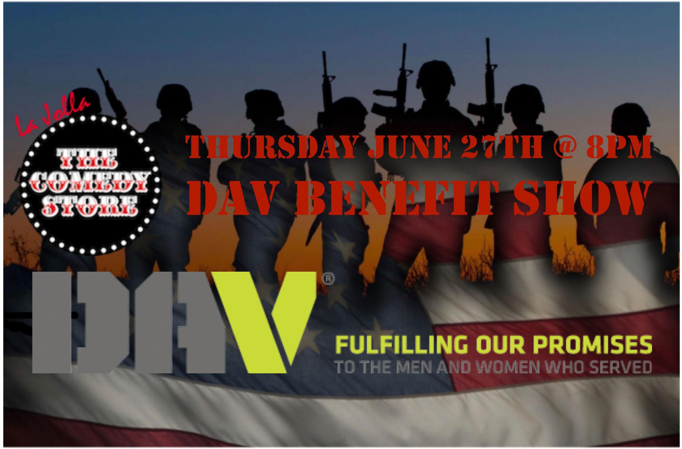 DAV Benefit Show- 8pm
