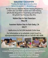 July 9 Summer Visitor Day in Sacramento!