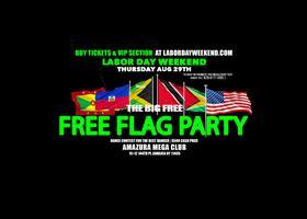 LABORDAYWEEKEND #FREE FLAG PARTY AMAZURA