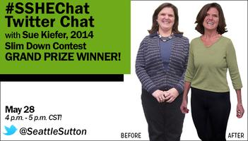 #SSHEChat with Seattle Sutton's 2014 Slim Down Contest...