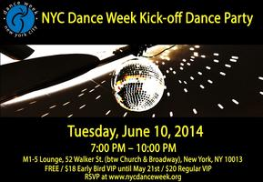NYC Dance Week Kick-off Party