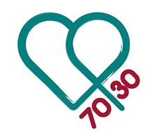 The 70/30 Campaign logo