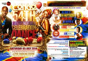 THE OFFICIAL CONGO 54TH INDEPENDENCE CELEBRATION...