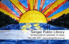 Sanger Public Library logo