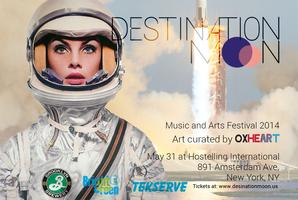 Destination Moon Music and Arts Festival Spring 2014